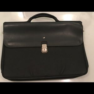 Mandarina Duck Black Briefcase